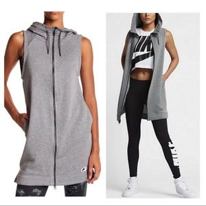 Nike Modern Hooded Vest Dress Size Medium